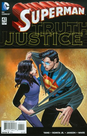 """Superman #42 """"Before Truth"""" Part Two Review"""