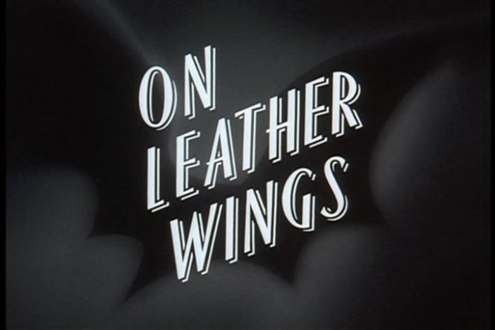 "Batman: The Animated Series ""On Leather Wings"""