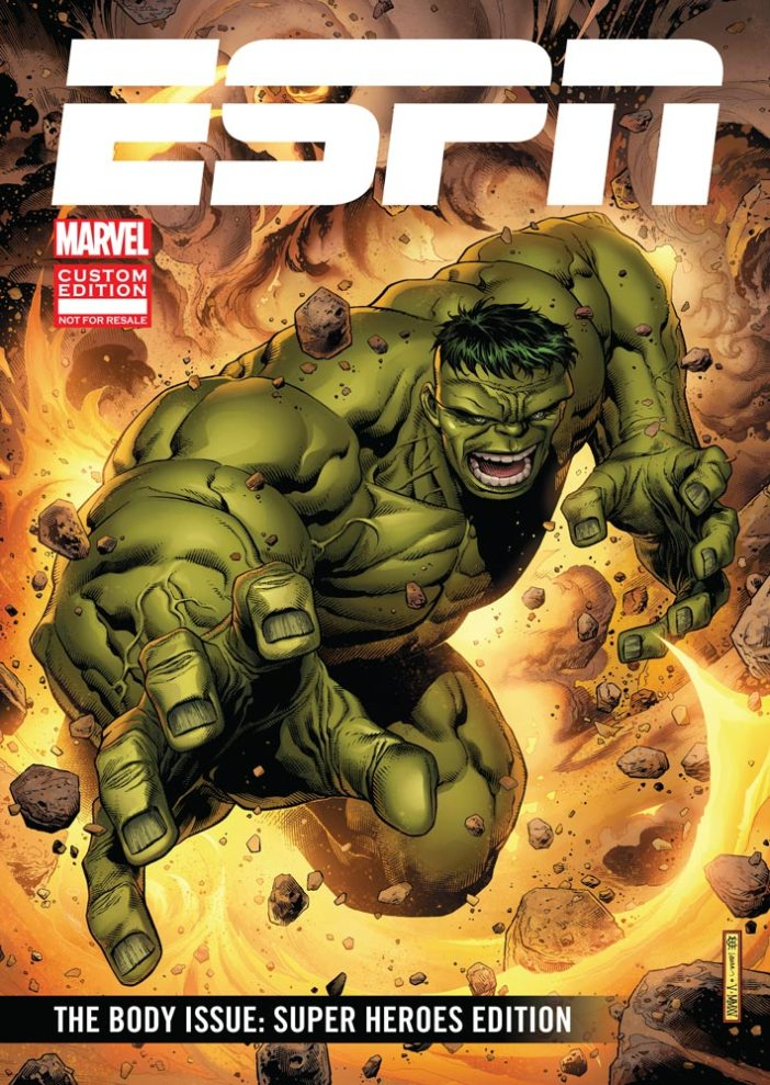 ESPN and Marvel bring you The Body Issue: Super Heroes Edition