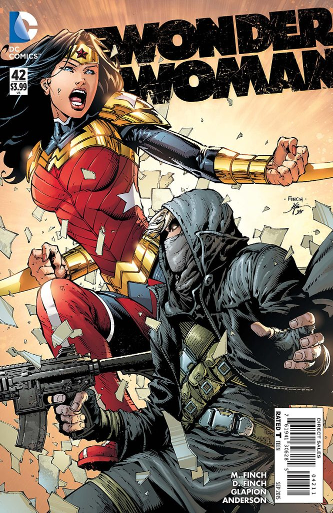 Wonder Woman 42 - Misses the Mark, Again...