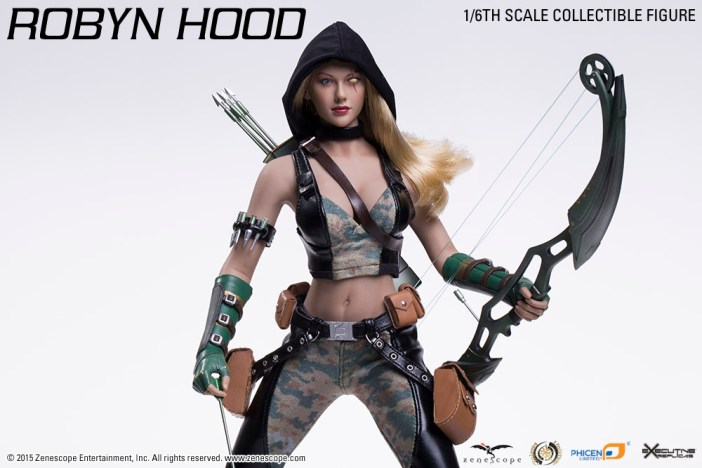 The Robyn Hood 12-inch Action Figure!