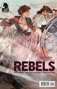 Rebels #7 Brings Molly Pitcher to Life