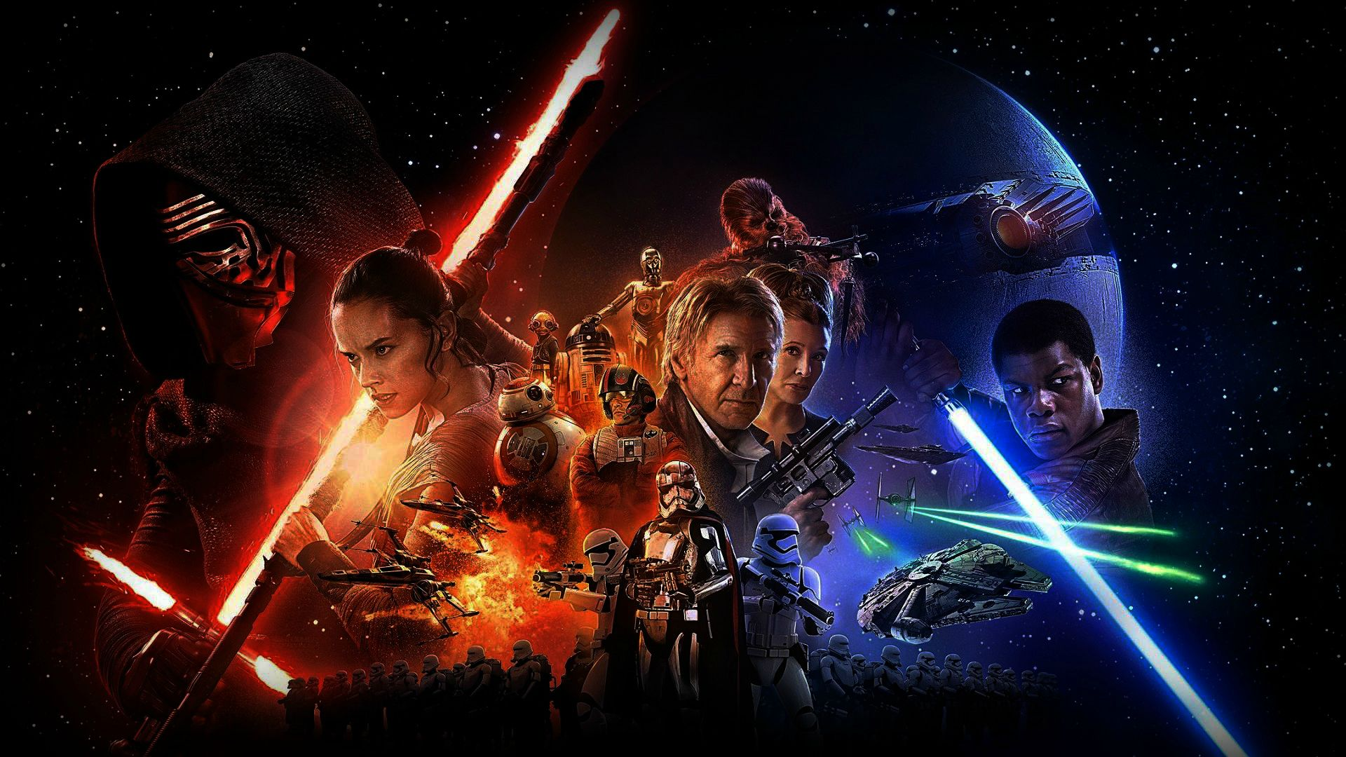 movie review: the force is strong with star wars ~ what'cha reading?