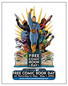 Free Comic Book Day T-Shirts for 2016!