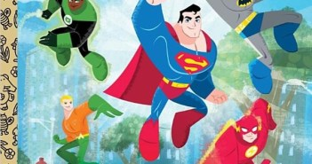 Little Golden Books DC Super Friends Big Heroes!