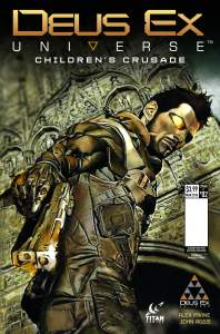 Deus Ex #2 - Cover C by Marco Turini. Previews Order Code JAN161673
