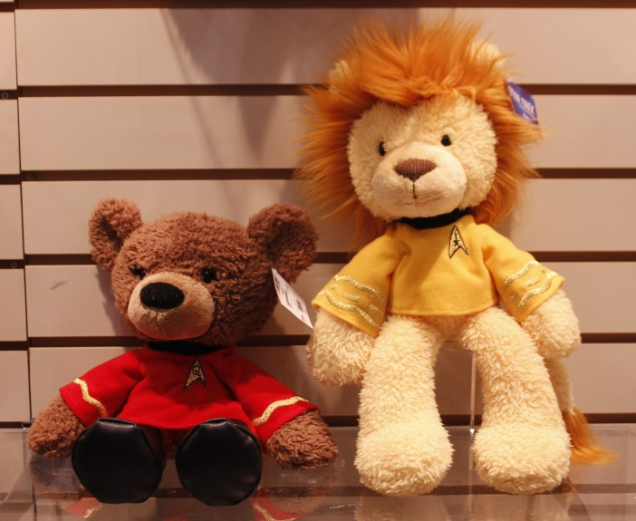 Uhura Bear and Kirk Lion