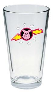 PigsInSpacePintGlass