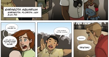 From Novel to Graphic Novel: Tristan Hunt and the Sea Guardians!