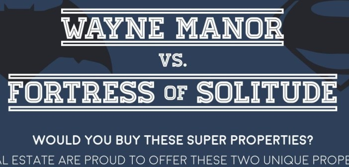 Wayne Manor or the Fortress of Solitude