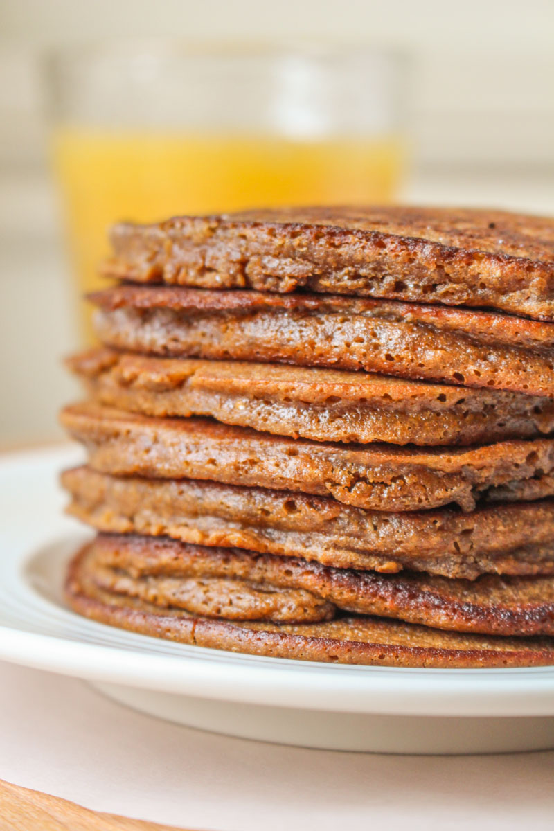 Gingerbread pancakes without molasses what charlotte baked gingerbread pancakes made without molasses fluffy and soft perfect drizzled with warm lemon sauce ccuart Images