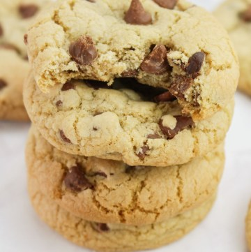 Chewy Chocolate Chip Cookies | What Charlotte Baked