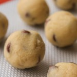 Edible Raw Cookie Dough - made without eggs so it's safe to eat without baking!