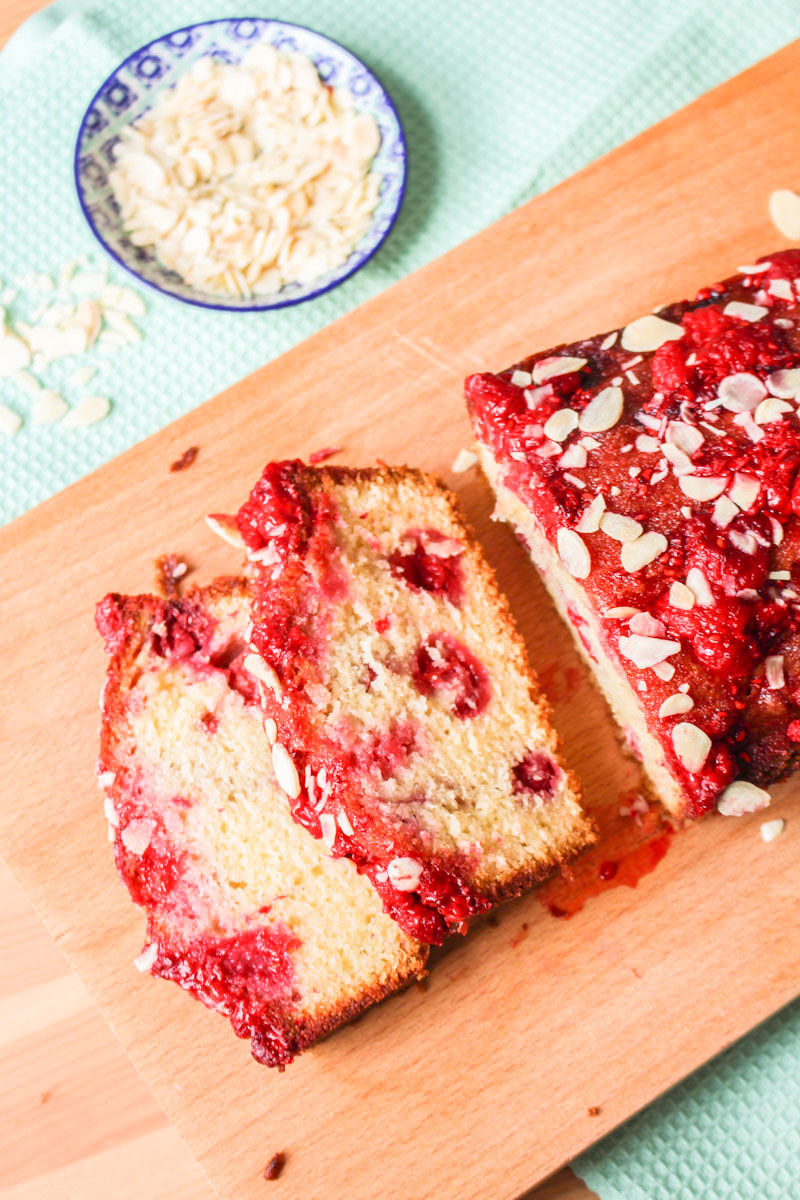 Almond Raspberry Drizzle Cake | What Charlotte Baked