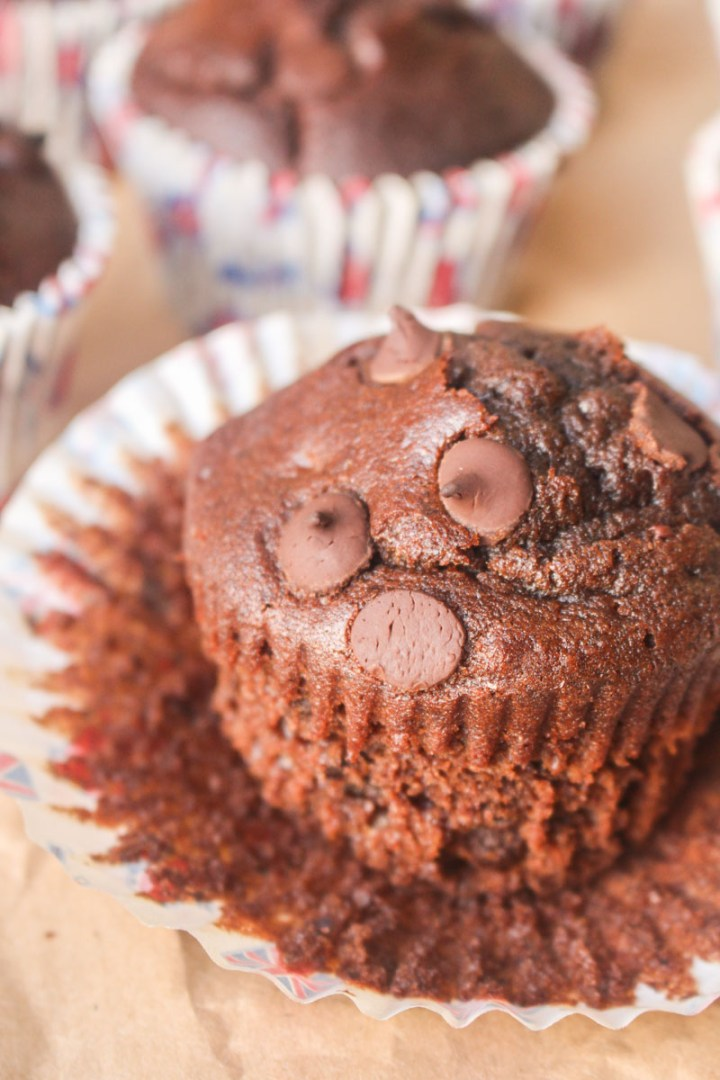 Double Chocolate Muffins | What Charlotte Baked
