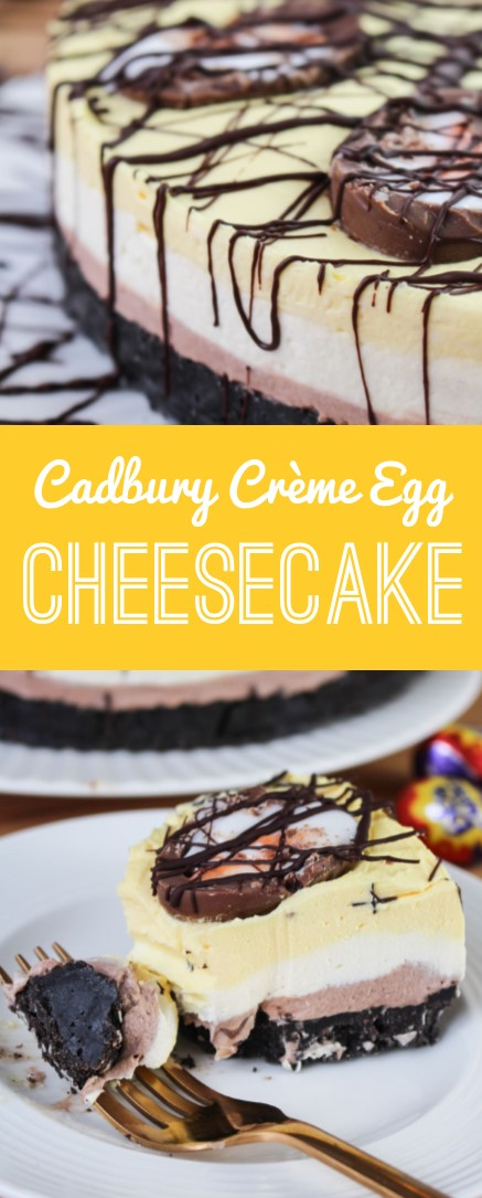 Creme Egg Cheesecake | What Charlotte Baked