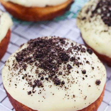Cookies and Cream Doughnuts | What Charlotte Baked