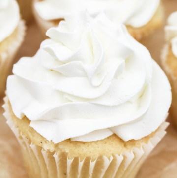 White Vanilla Buttercream | What Charlotte Baked