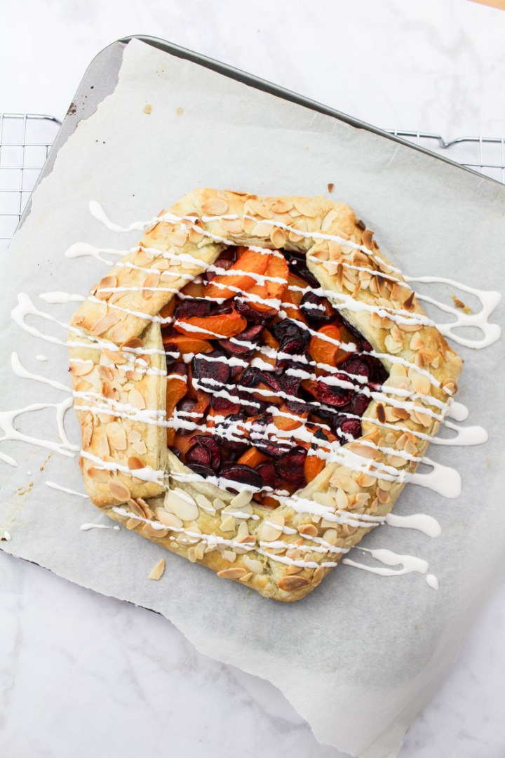 Cherry Apricot Galette recipe | What Charlotte Baked