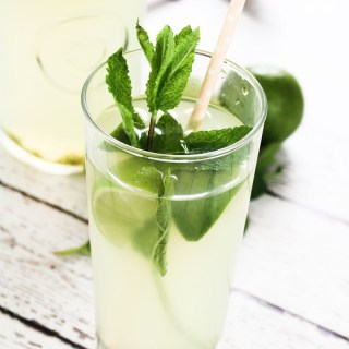 Mint Limeade | What Charlotte Baked