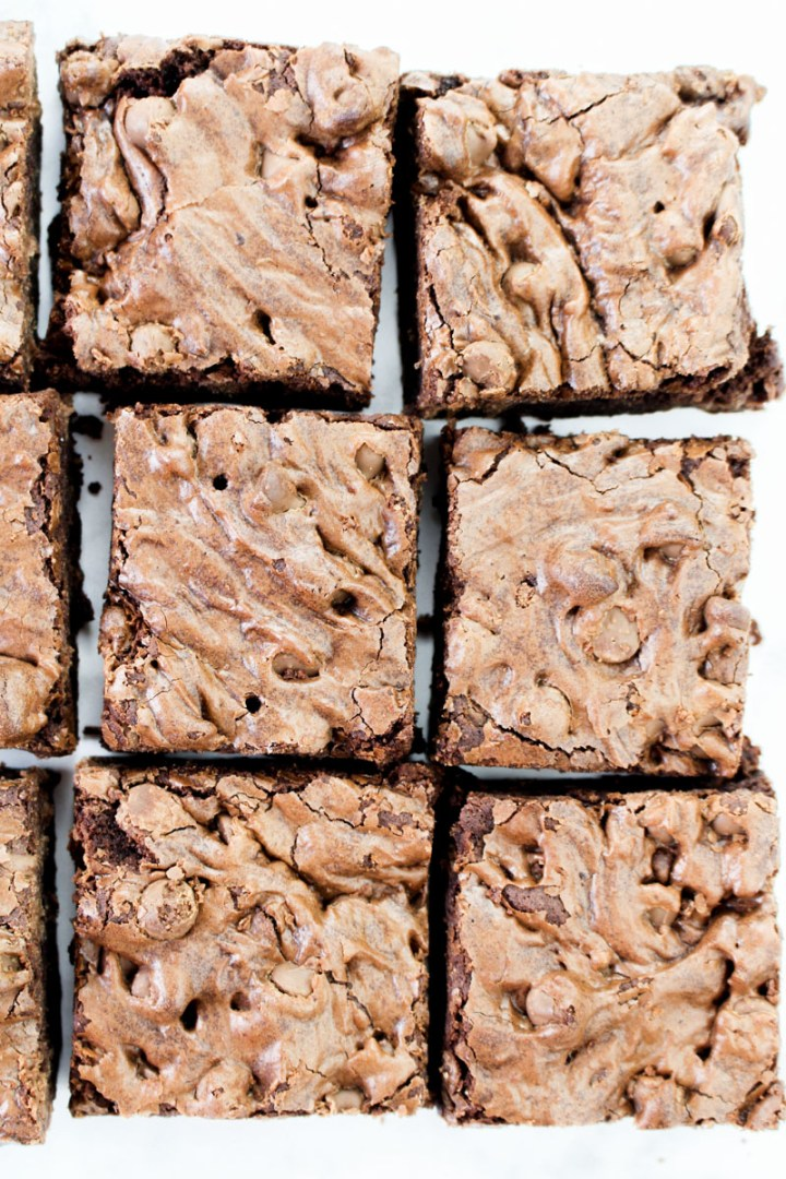 Foolproof Fudgy Chocolate Brownies   What Charlotte Baked