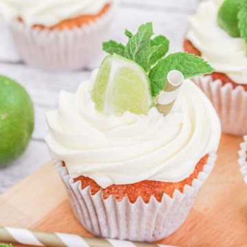 Mojito Cupcakes recipe | What Charlotte Baked