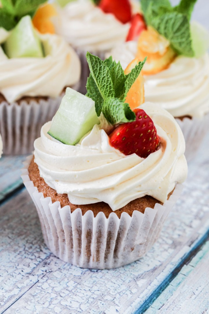 Pimm's Cupcakes recipe | What Charlotte Baked