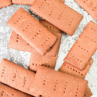 Homemade Chocolate Graham Crackers recipe | What Charlotte Baked