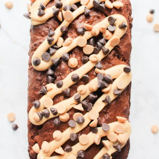 Chocolate Peanut Butter Banana Bread recipe | What Charlotte Baked