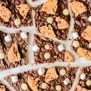 Rocky Road Chocolate Bark recipe   What Charlotte Baked