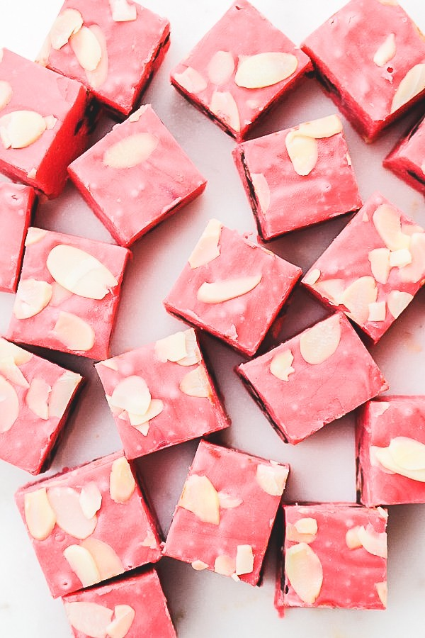 Cherry Amaretto Fudge recipe | What Charlotte Baked