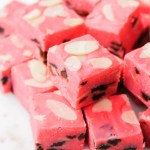 Cherry Amaretto Fudge recipe | What Charlotte Baked