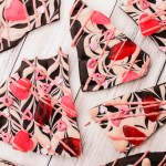 Valentine's Hearts & Lips Bark