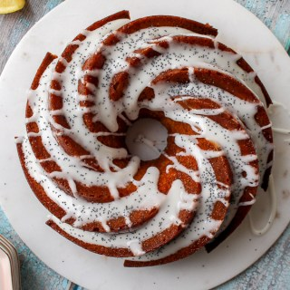 Lemon Poppy Seed Bundt Cake recipe | What Charlotte Baked