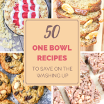 50 One Bowl Recipes to Save on Washing Up