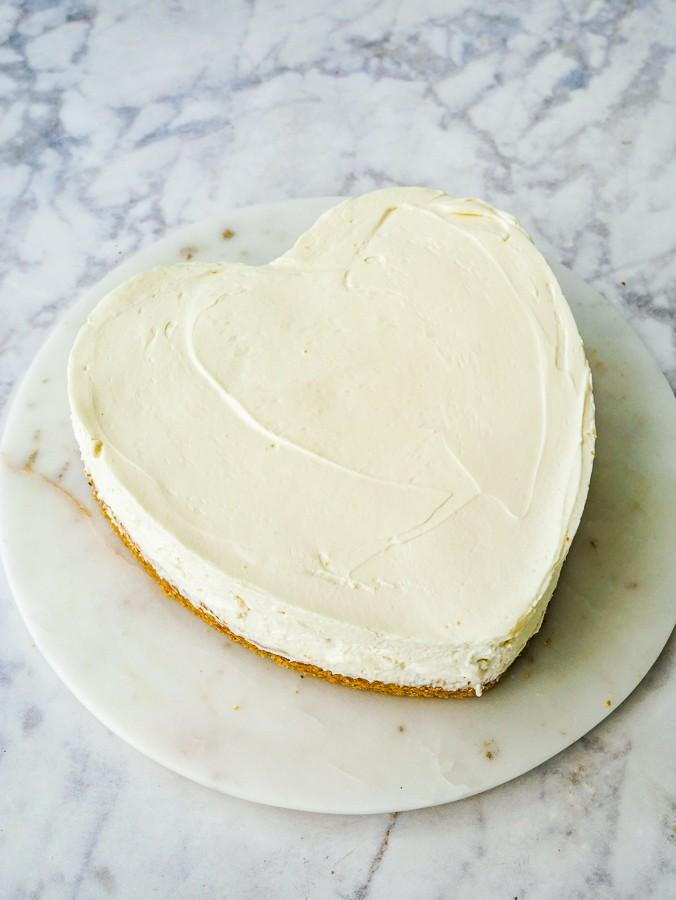 Amaretto Cherry Cheesecake recipe | What Charlotte Baked