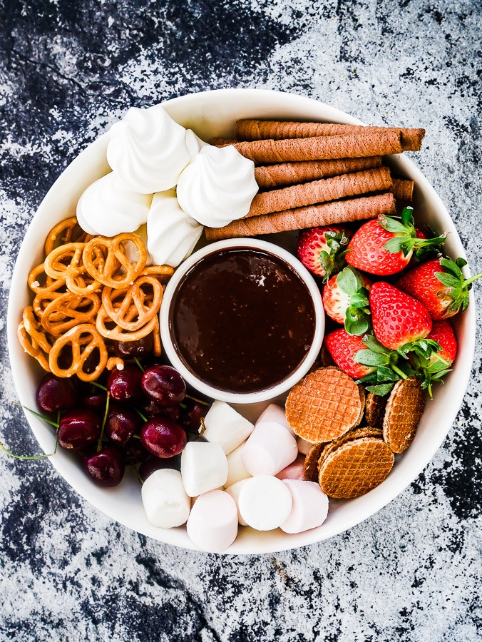 Boozy Chocolate Dipping Sauce What Charlotte Baked