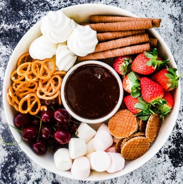 Boozy Chocolate Dipping Sauce recipe   What Charlotte Baked