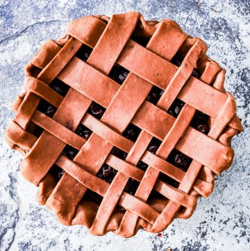 Chocolate Cherry Pie recipe   What Charlotte Baked