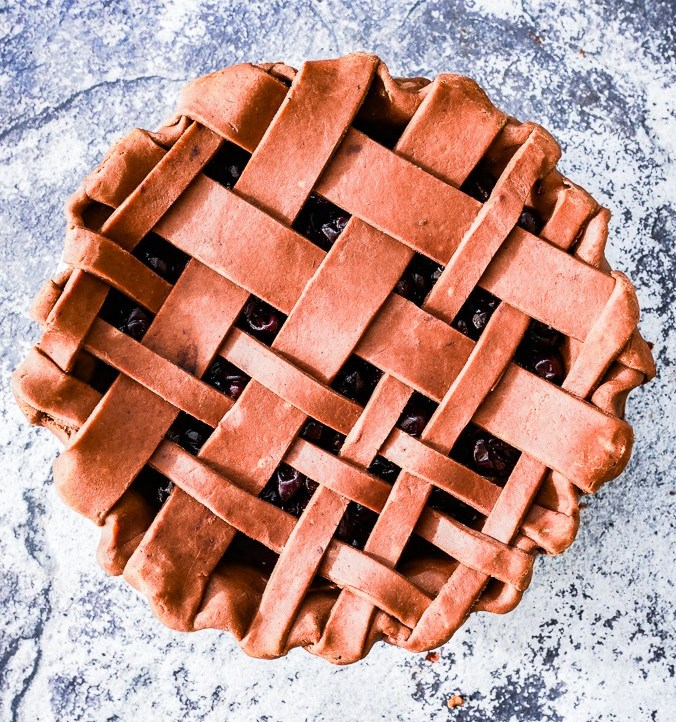 Chocolate Cherry Pie recipe | What Charlotte Baked