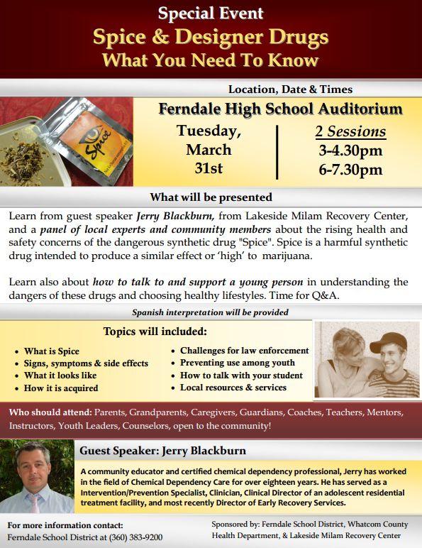 ferndale spice and designer drugs forum