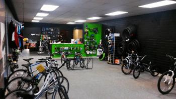 Lenny's Bike Shop interior (September 2015). Photo: My Ferndale News