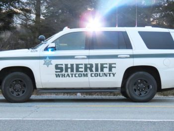 Whatcom County Sheriff's Office vehicle (February 16, 2017). Photo: Whatcom News