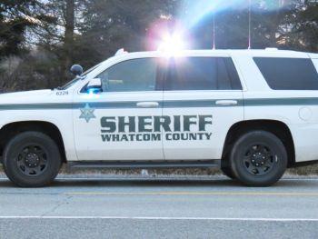 Whatcom County Sheriff's Office vehicle (February 16, 2017). Photo: My Ferndale News