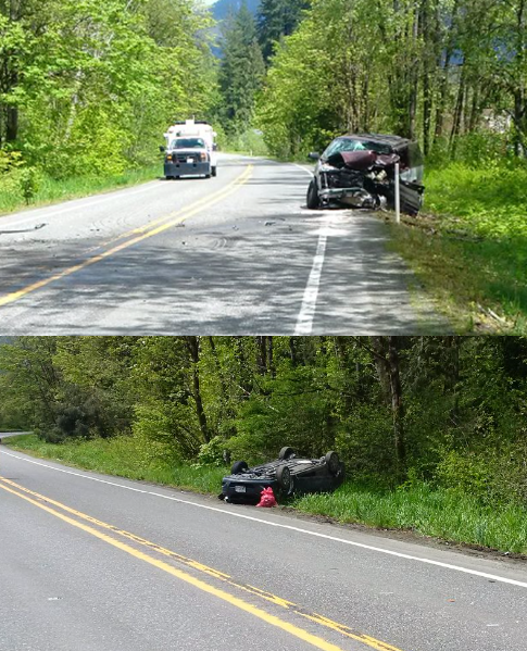 WSP photos from scene of fatal 3-car crash on sr542 photos wsp 20117-05-14