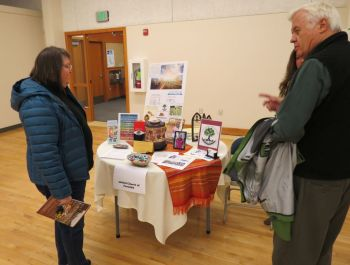 united church of ferndale info table