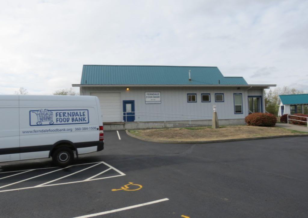 Ferndale Food Bank building (September 17, 2017). Photo: My Ferndale News