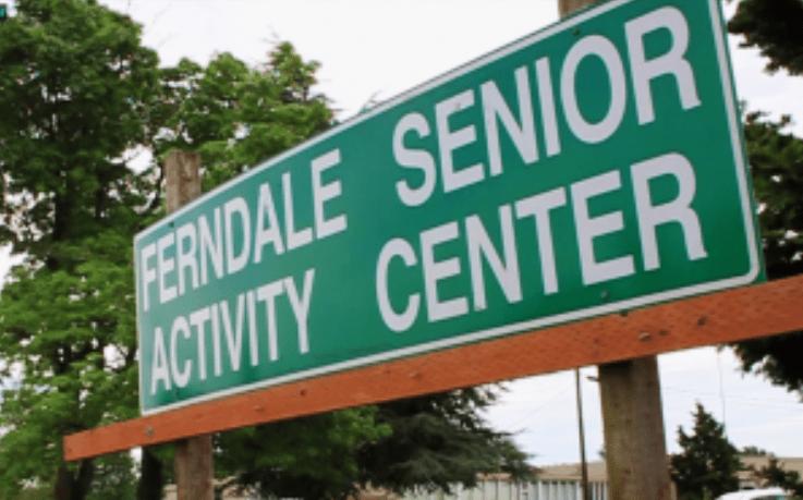 ferndale senior activity center sign 2015