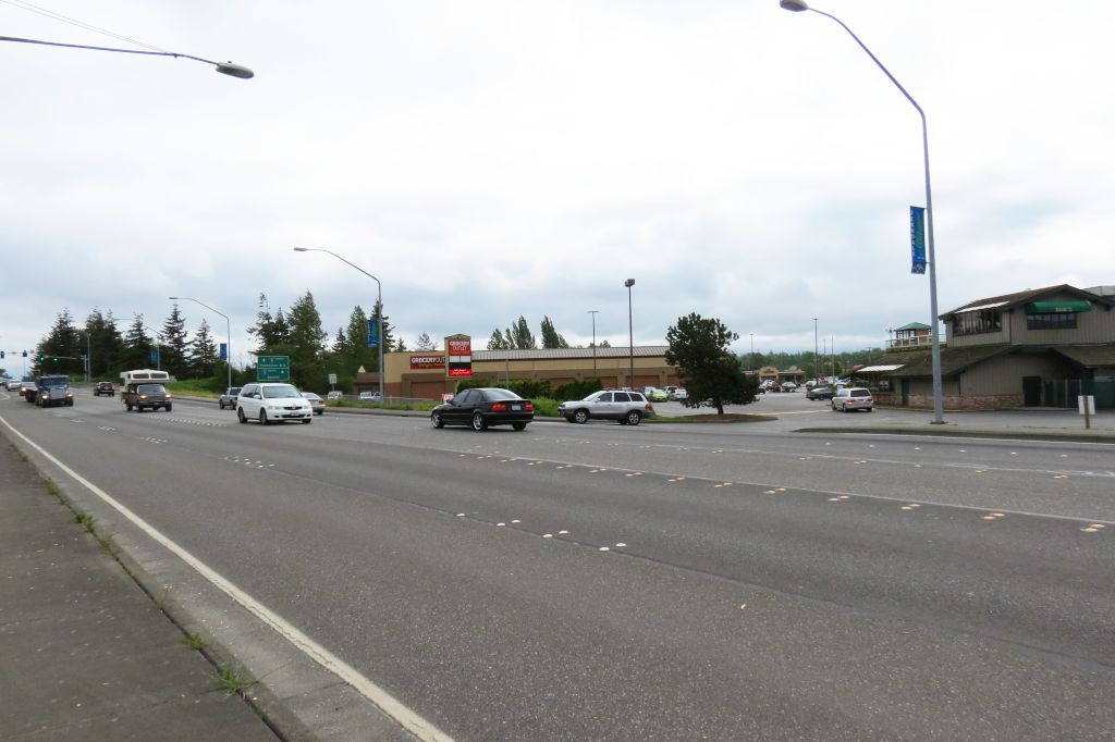 Main Street between the I-5 interchange and LaBounty Drive 2018-05-17