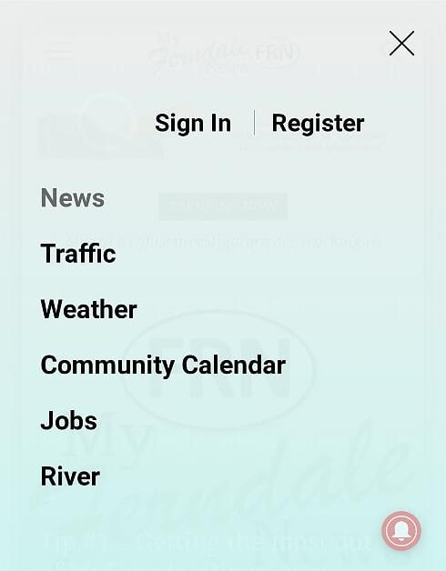 mfn menu open on mobile